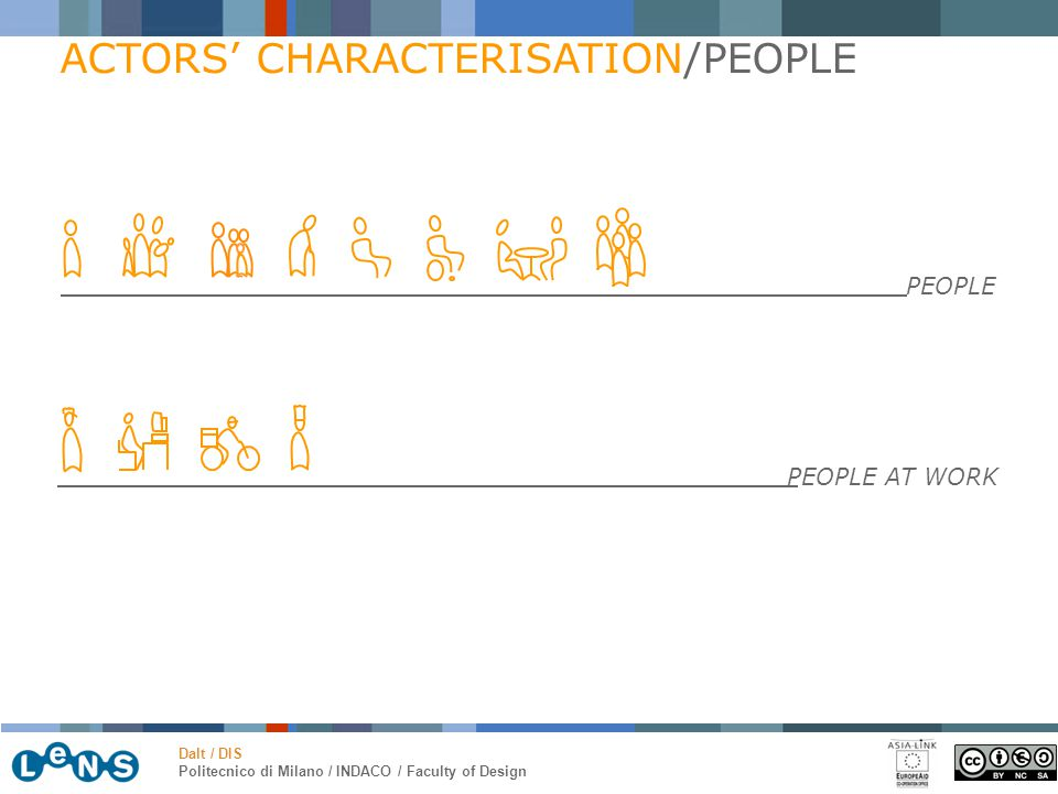 ACTORS' CHARACTERISATION/PEOPLE