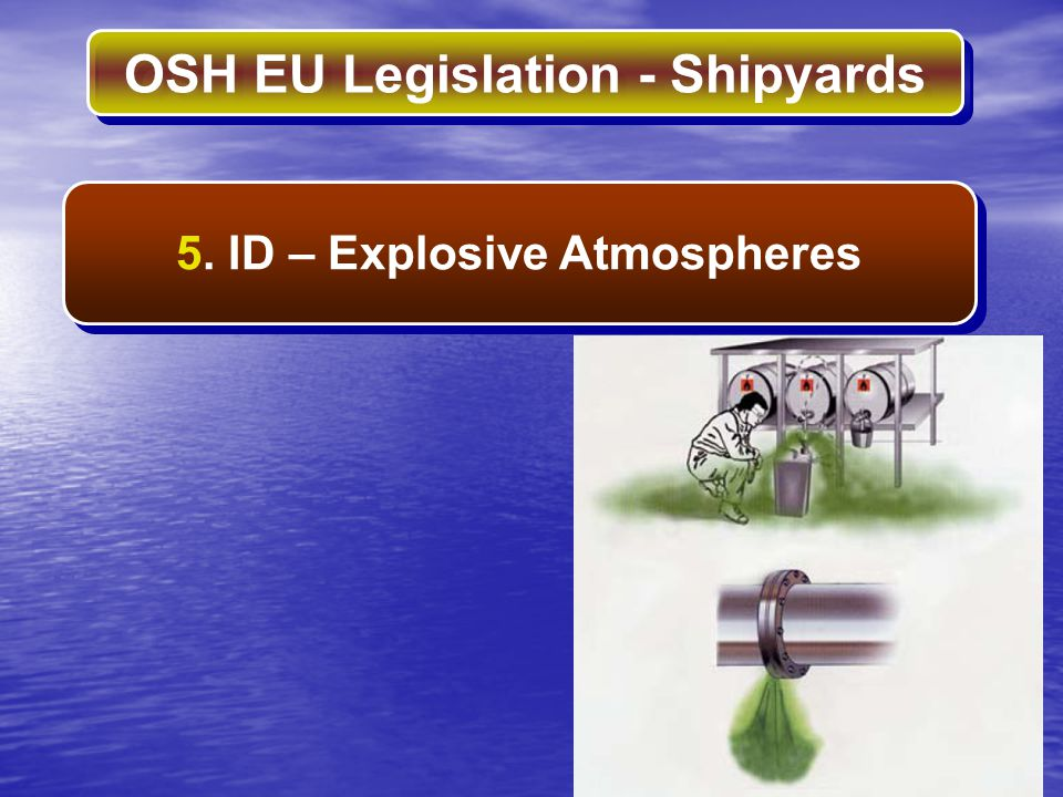 5. ID – Explosive Atmospheres