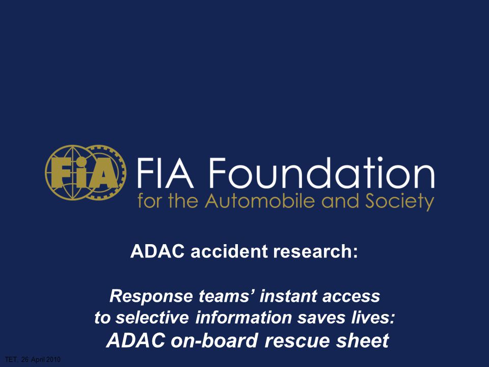 ADAC accident research: