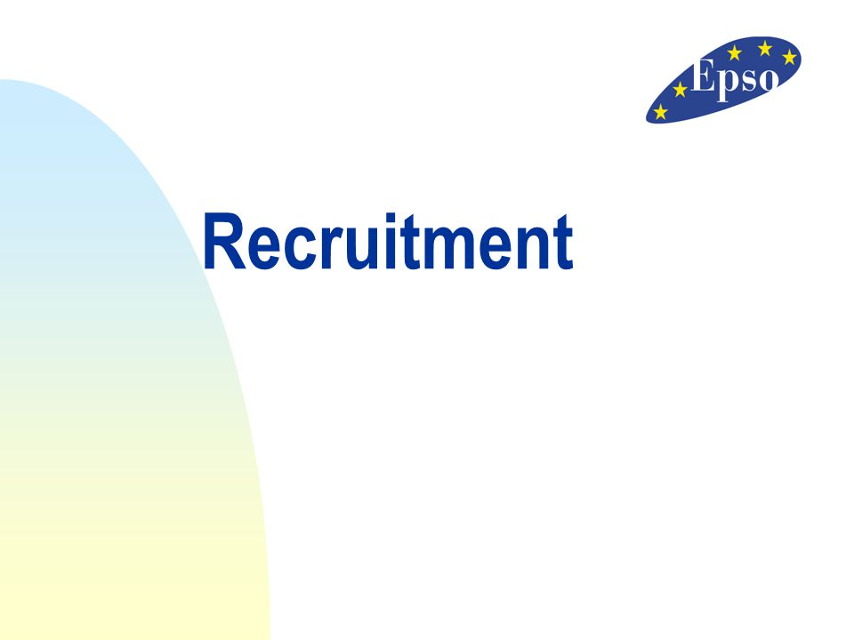 Recruitment 11/04/2017 Recruitment