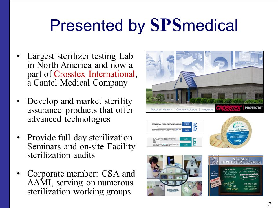 Presented by SPSmedical