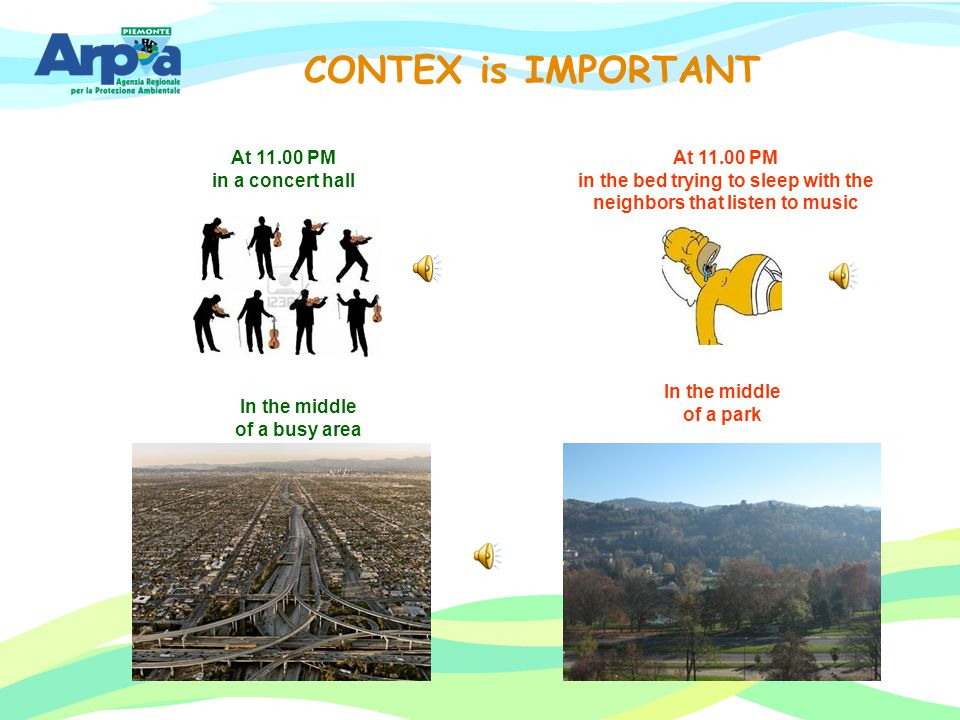 CONTEX is IMPORTANT At 11.00 PM in a concert hall At 11.00 PM