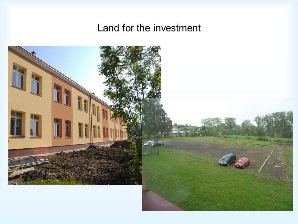 Land for the investment