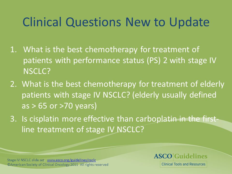 Clinical Questions New to Update