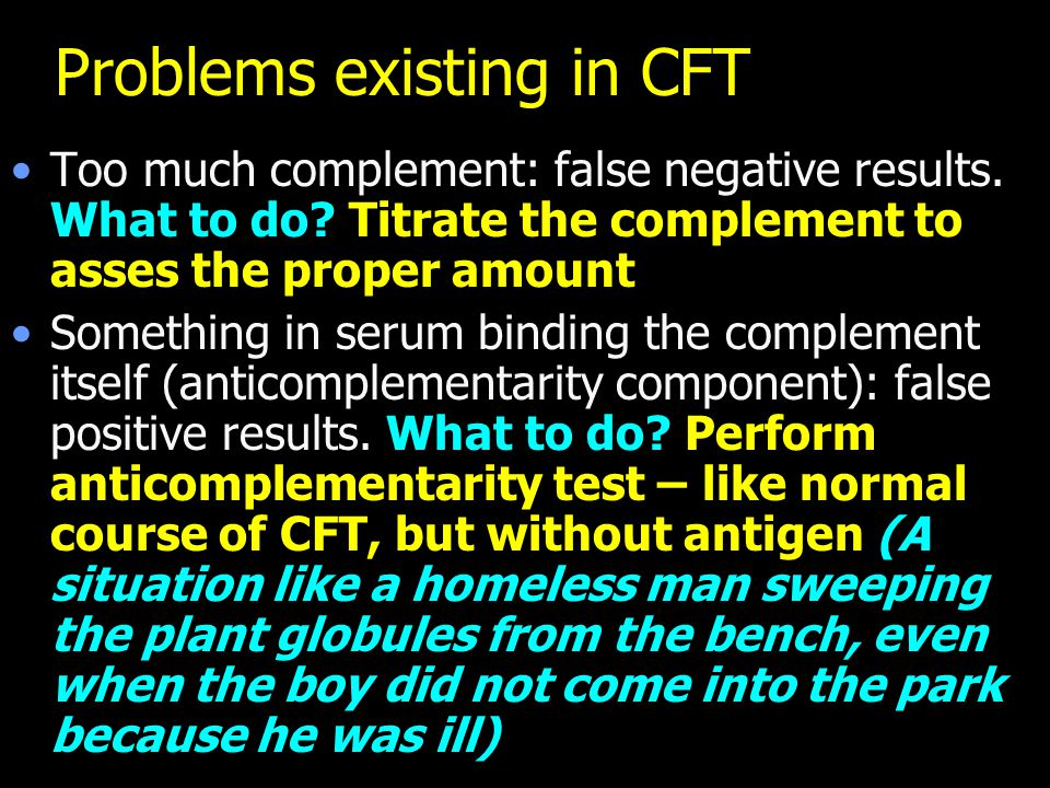Problems existing in CFT
