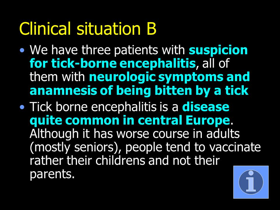 Clinical situation B