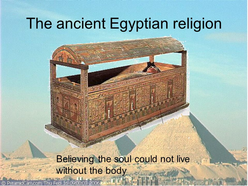The ancient Egyptian religion