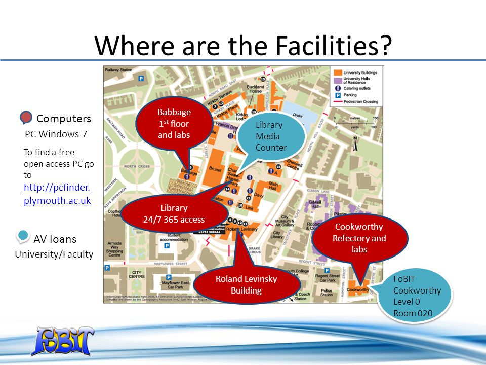 Where are the Facilities