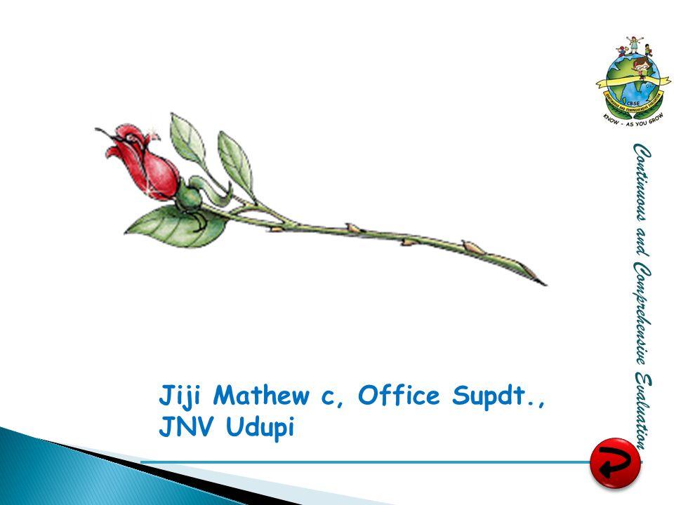 Jiji Mathew c, Office Supdt., JNV Udupi