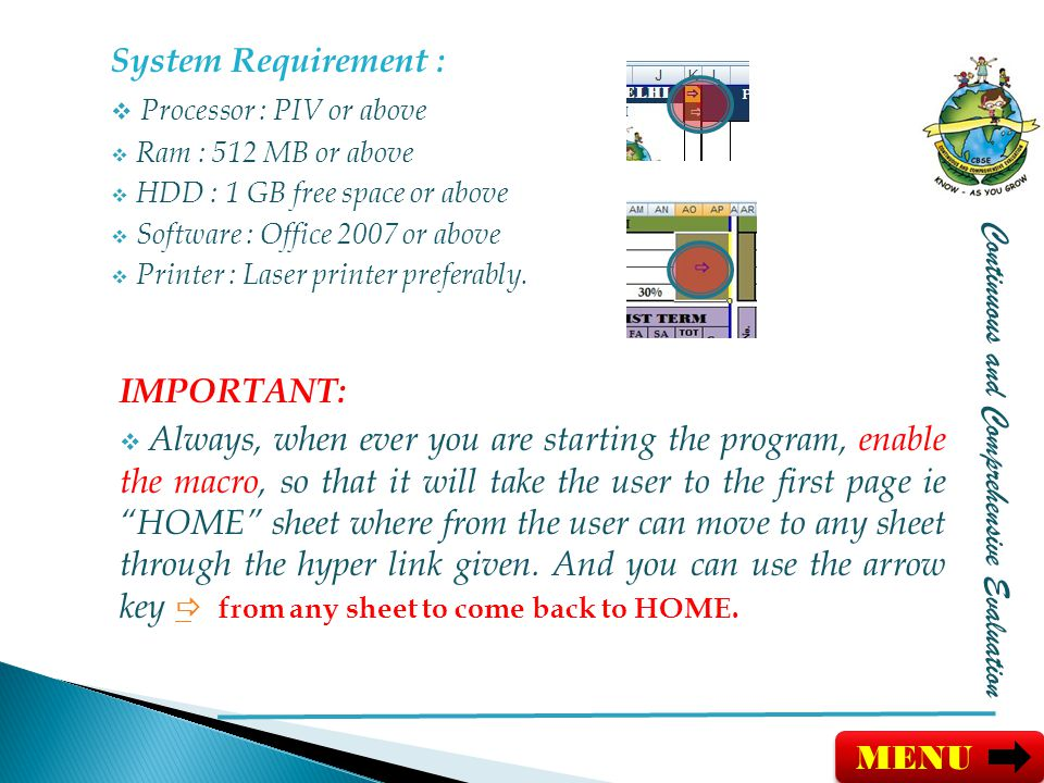 Processor : PIV or above