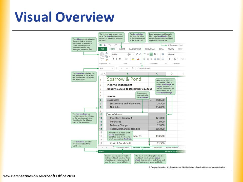 Visual Overview New Perspectives on Microsoft Office 2013