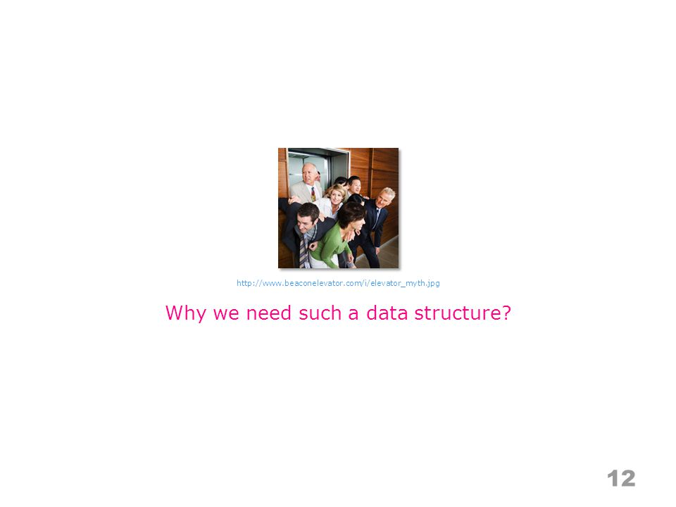 Why we need such a data structure