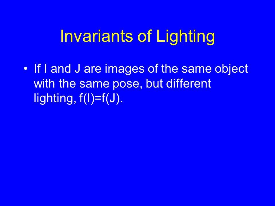 Invariants of Lighting