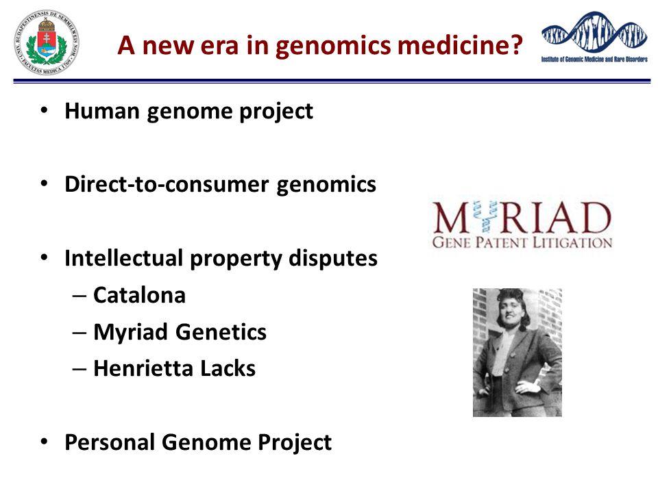 A new era in genomics medicine