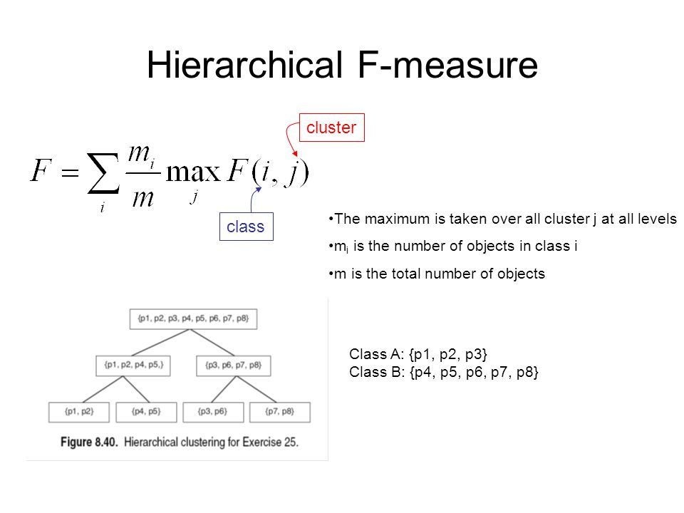Hierarchical F-measure