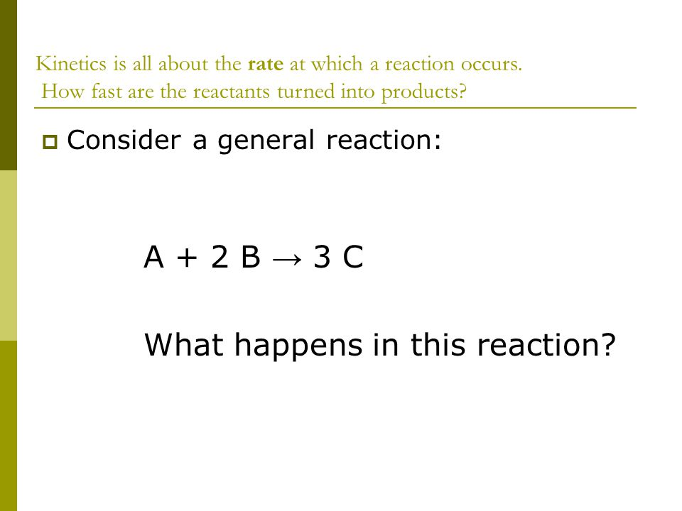 What happens in this reaction