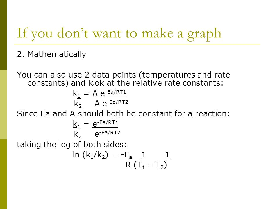 If you don't want to make a graph
