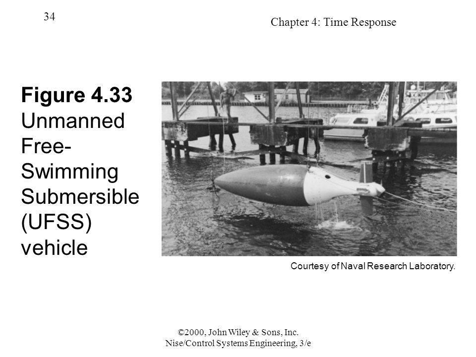 Figure 4.33 Unmanned Free-Swimming Submersible (UFSS) vehicle