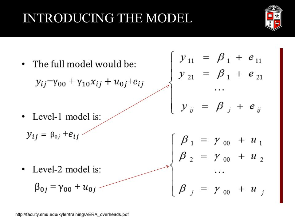 INTRODUCING THE MODEL