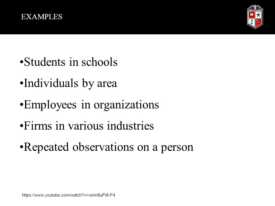 Employees in organizations Firms in various industries