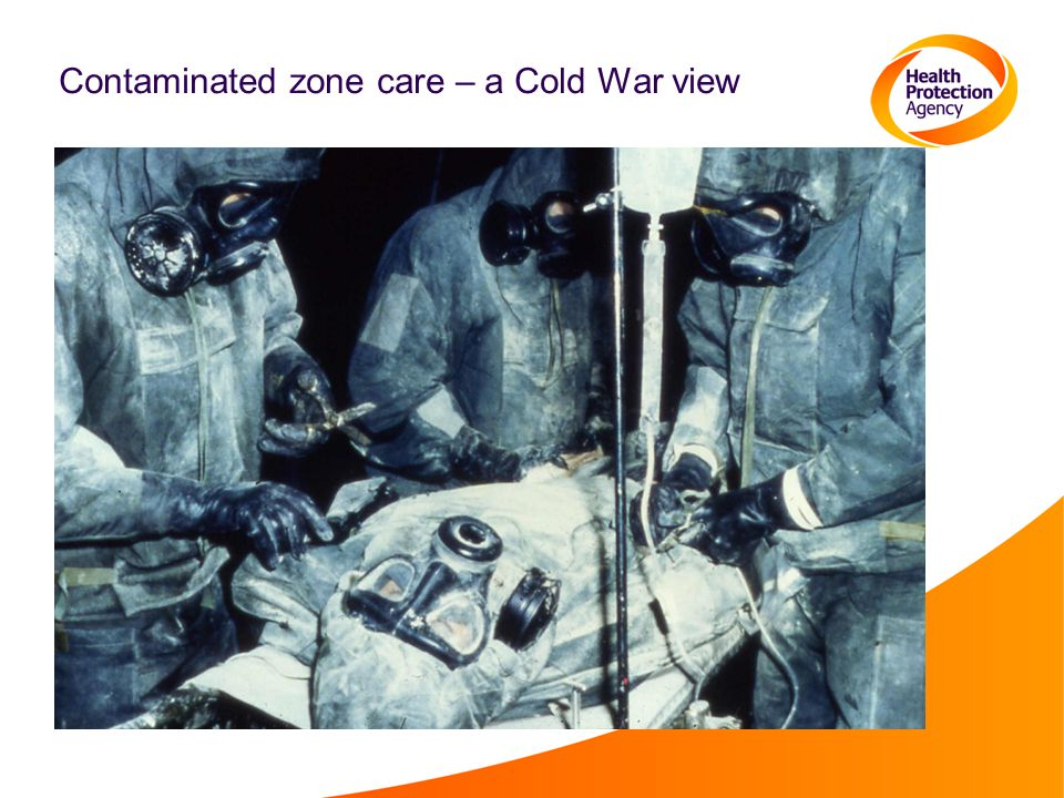 Contaminated zone care – a Cold War view
