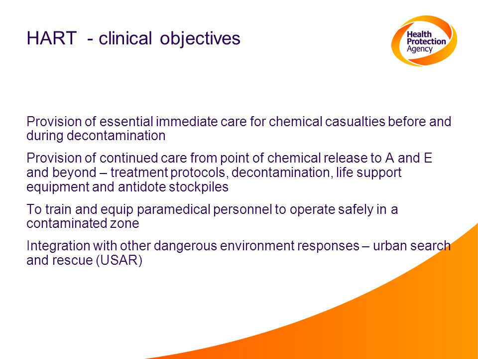 HART - clinical objectives