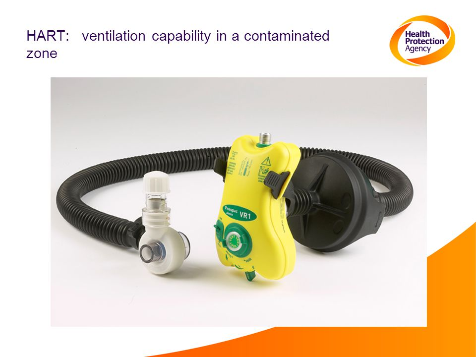 HART: ventilation capability in a contaminated zone