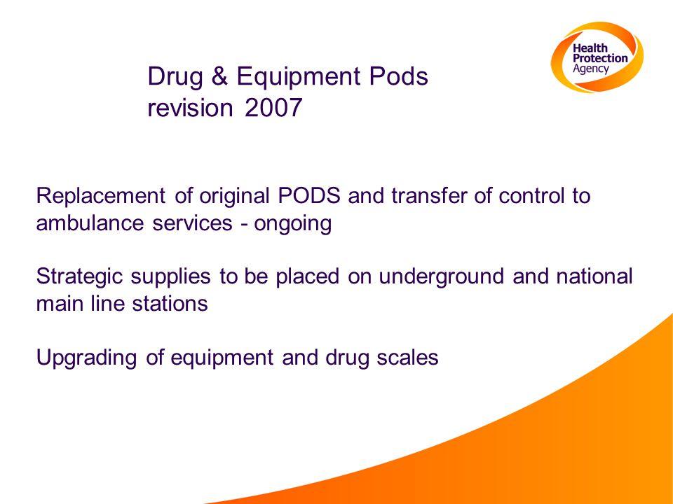 Drug & Equipment Pods revision 2007
