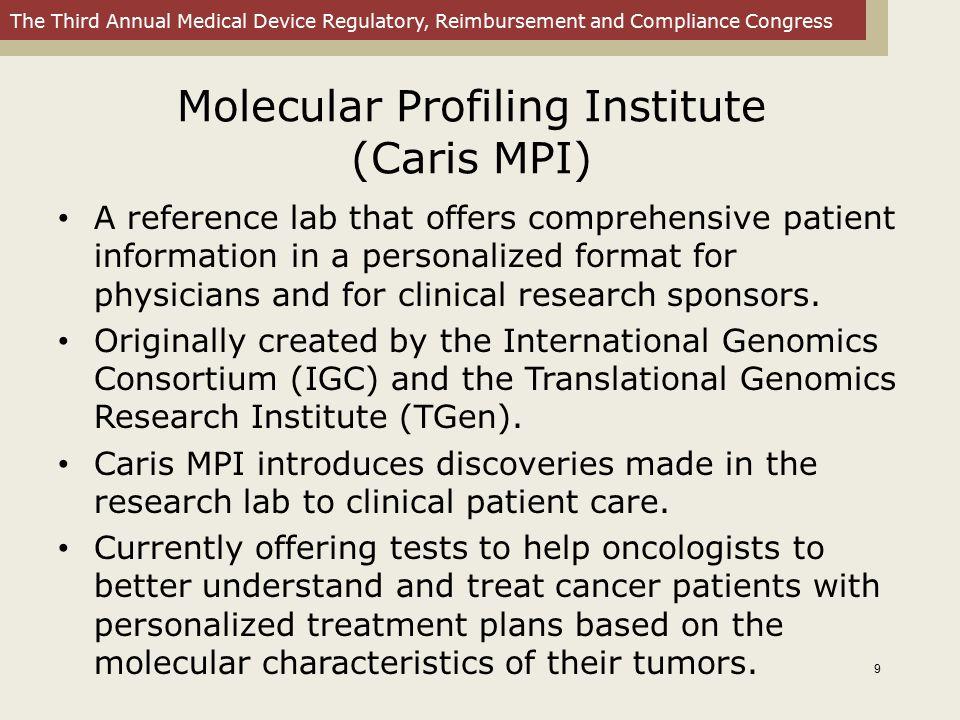Molecular Profiling Institute (Caris MPI)