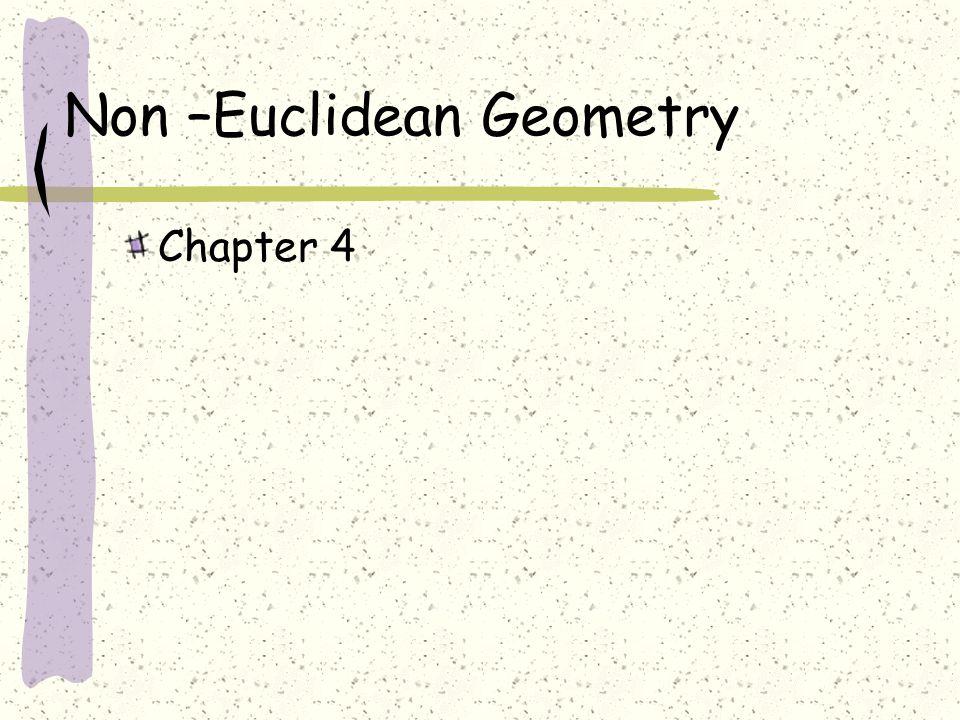 Non –Euclidean Geometry
