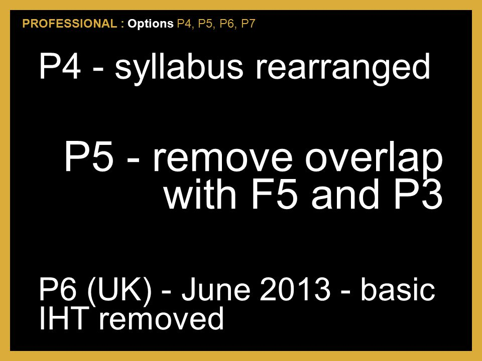 P5 - remove overlap with F5 and P3