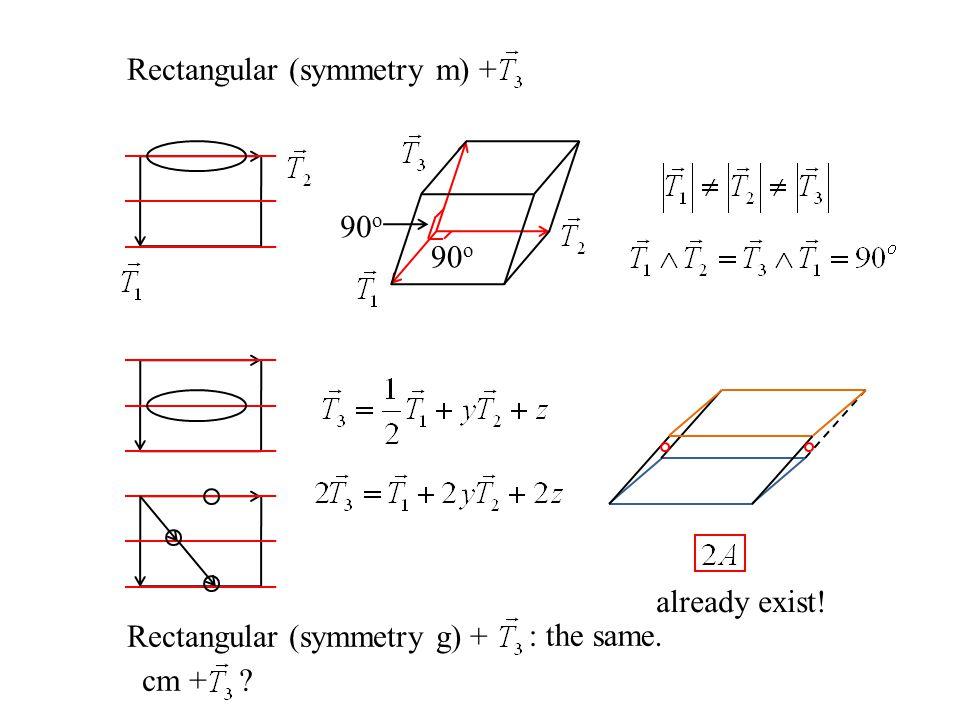 Rectangular (symmetry m) +