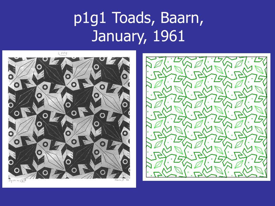 p1g1 Toads, Baarn, January, 1961