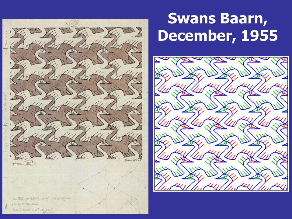 Swans Baarn, December, 1955