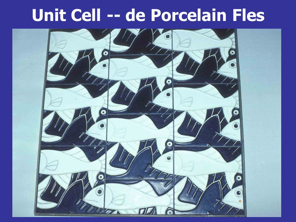 Unit Cell -- de Porcelain Fles
