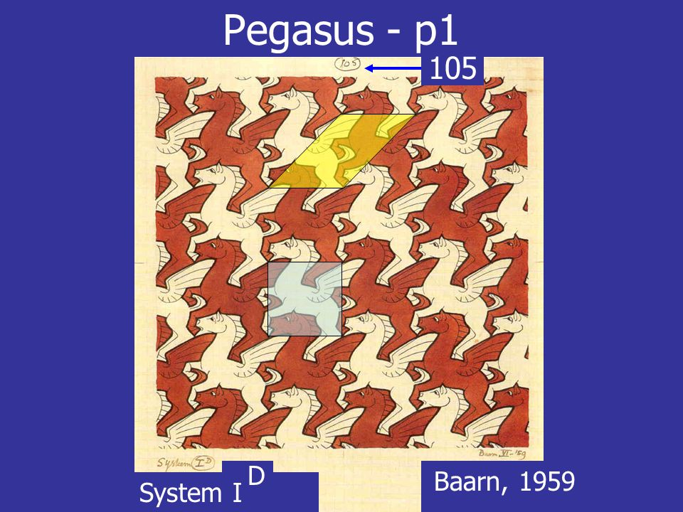 Pegasus - p1 105 D Baarn, 1959 System I