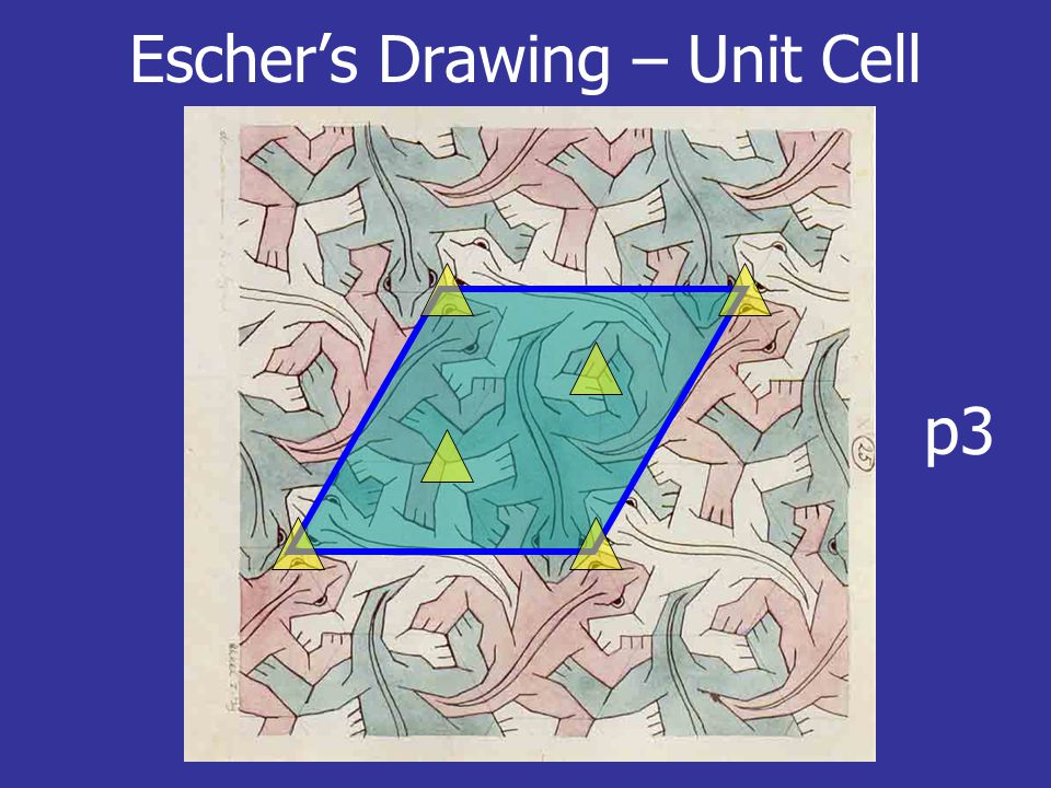 Escher's Drawing – Unit Cell