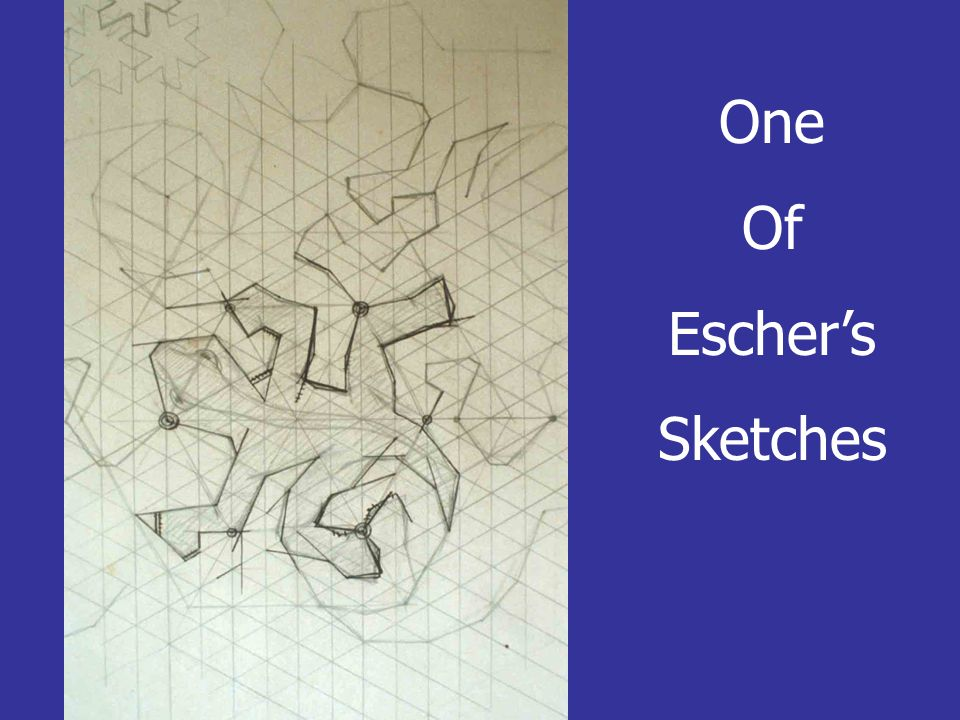 One Of Escher's Sketches