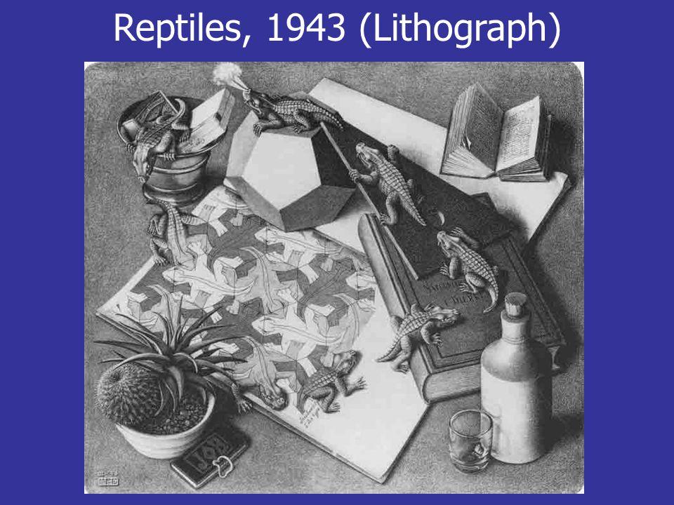 Reptiles, 1943 (Lithograph)