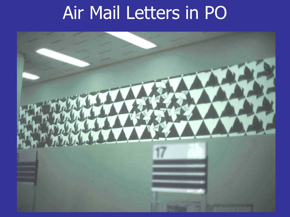 Air Mail Letters in PO