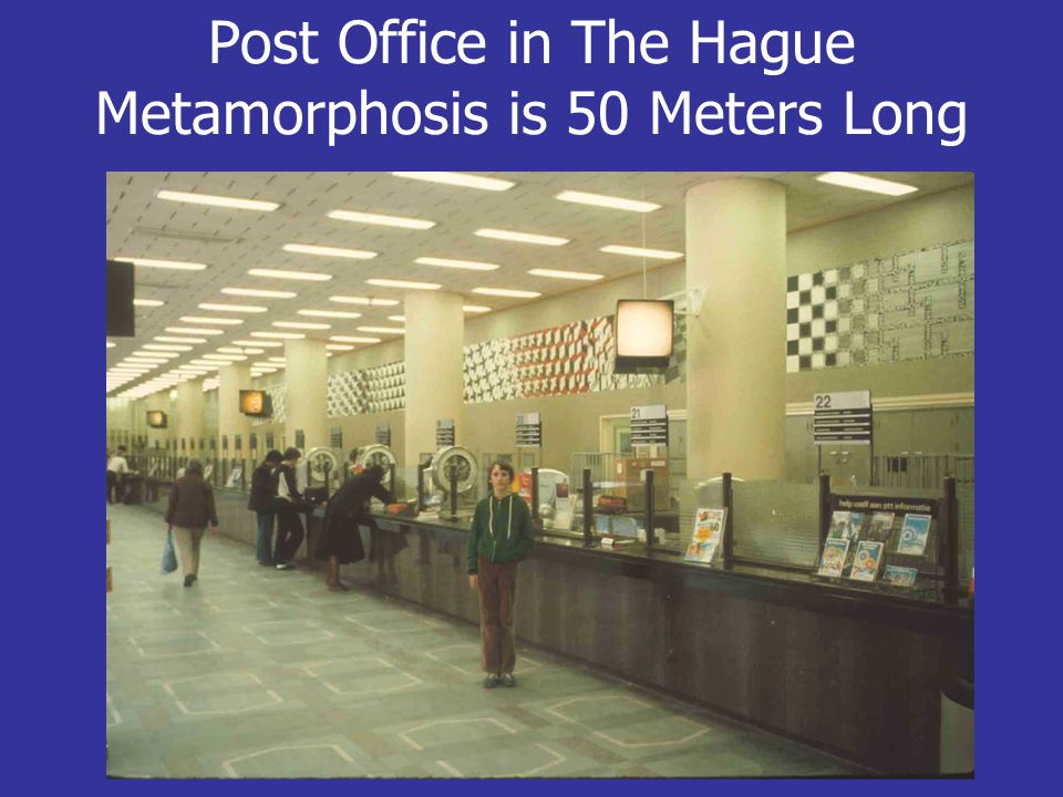 Post Office in The Hague Metamorphosis is 50 Meters Long