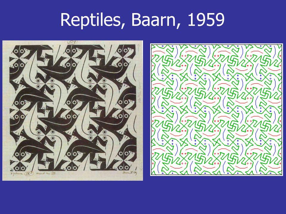 Reptiles, Baarn, 1959