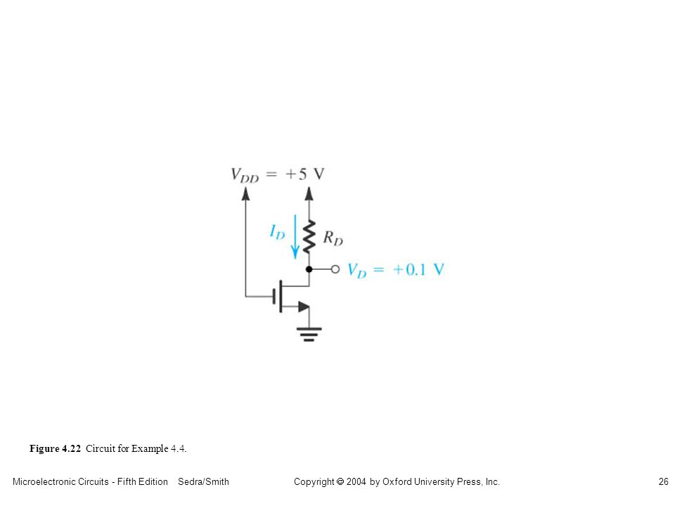 sedr42021_0422.jpg Figure 4.22 Circuit for Example 4.4.