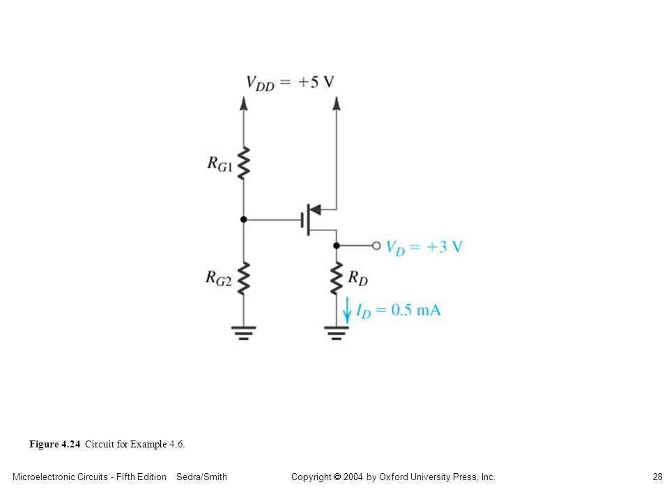 sedr42021_0424.jpg Figure 4.24 Circuit for Example 4.6.