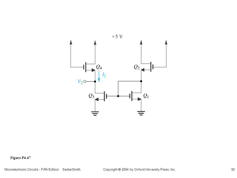 sedr42021_p04047.jpg Figure P4.47 Microelectronic Circuits - Fifth Edition Sedra/Smith