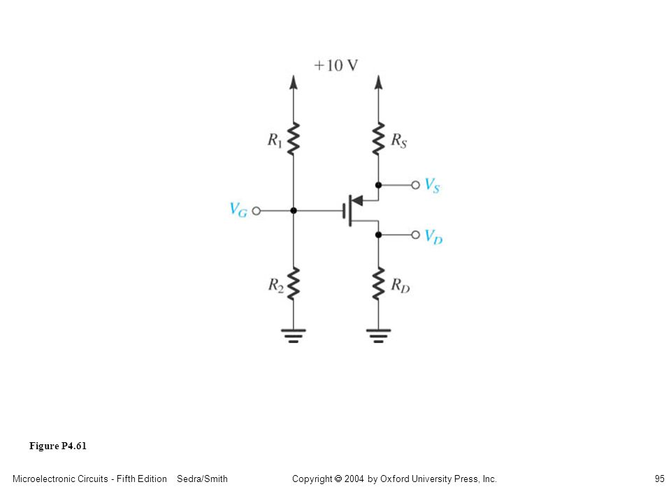 sedr42021_p04061.jpg Figure P4.61 Microelectronic Circuits - Fifth Edition Sedra/Smith