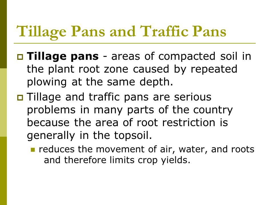 Tillage Pans and Traffic Pans
