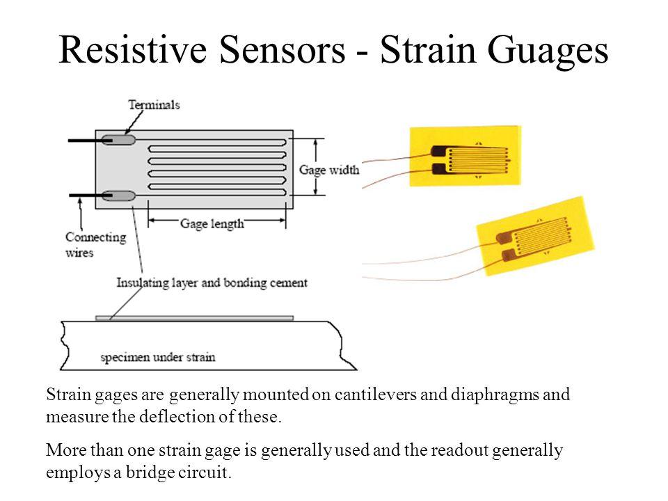 Resistive Sensors - Strain Guages