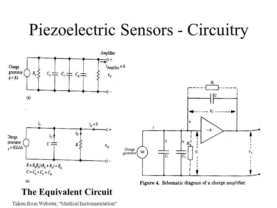 Piezoelectric Sensors - Circuitry