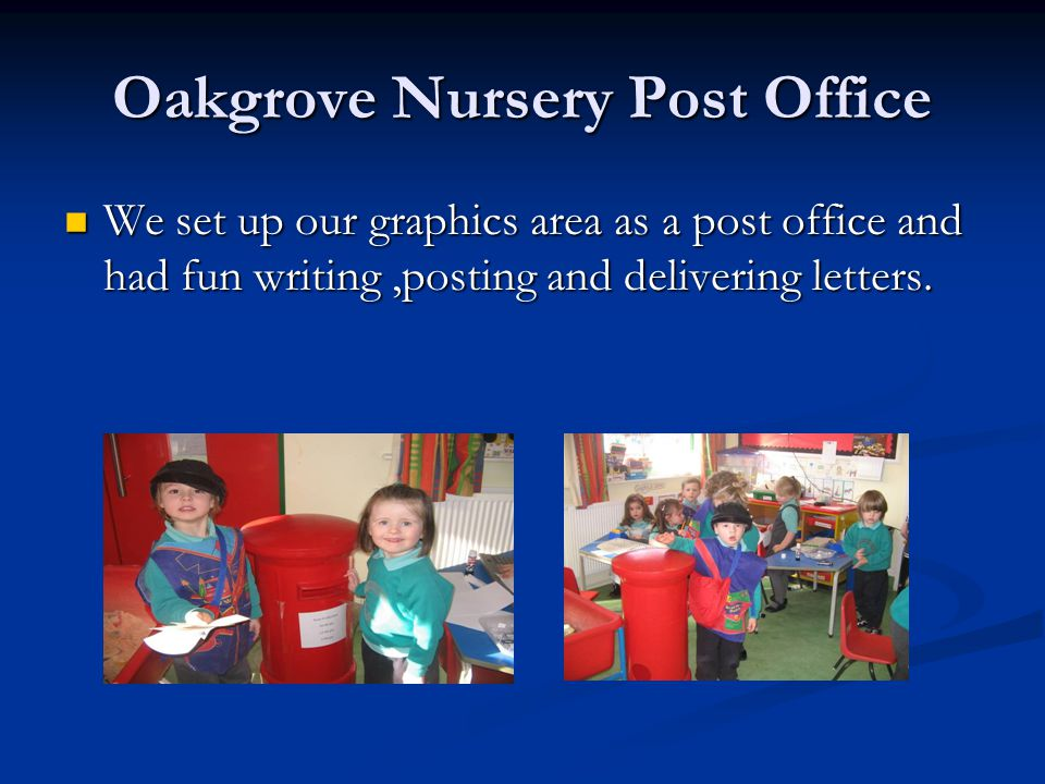 Oakgrove Nursery Post Office